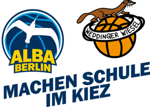 Logo ALBA und Weddinger Wiesel