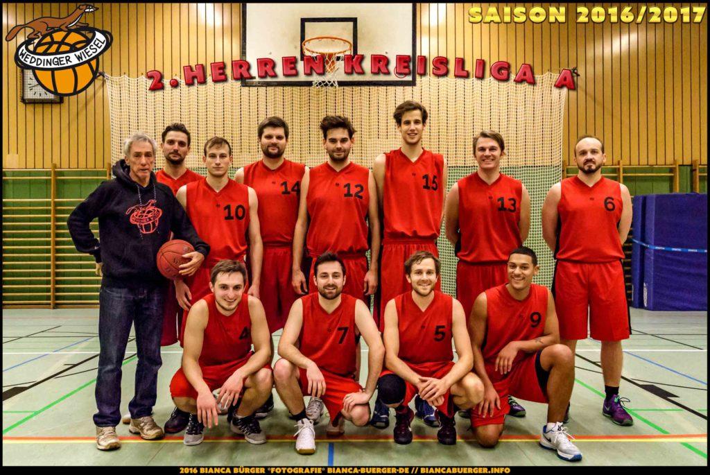 Teamfoto Herren-2 Saison 16/17