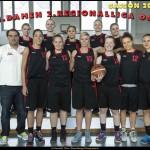 Teamfoto Damen-1 Saison 2015/16