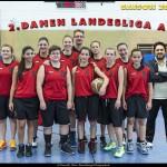 Teamfoto Damen-2 Saison 2015/16