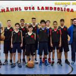 Mannschaftsfoto mu14 Saison 2015-16