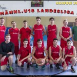 Teamfoto mu18 Saison 2015/16