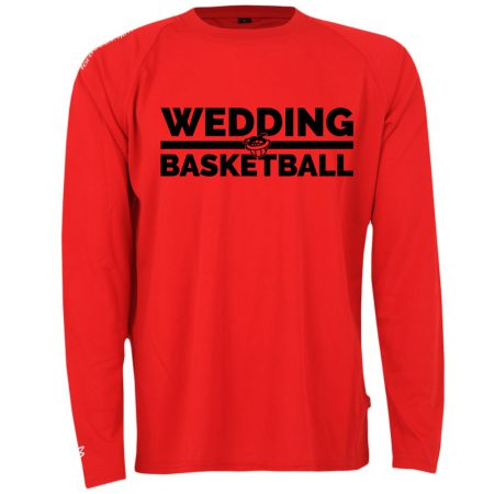 Wedding Basketball Longsleeve rot