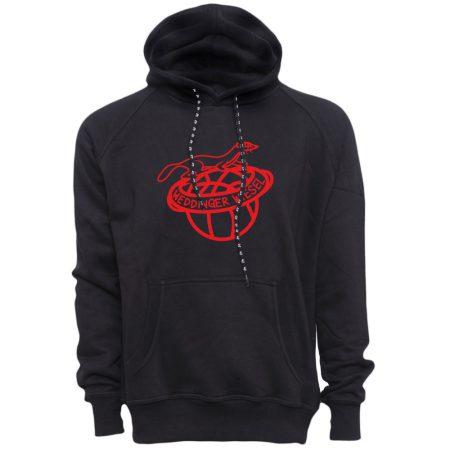 Weddinger Wiesel Kapuzensweater schwarz