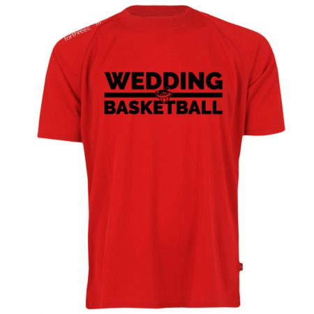 Wedding Basketball Shooting Shirt rot