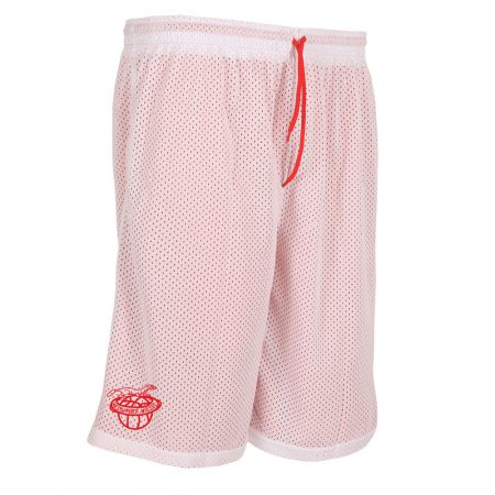 Weddinger Wiesel Reversible Short rot/weiß