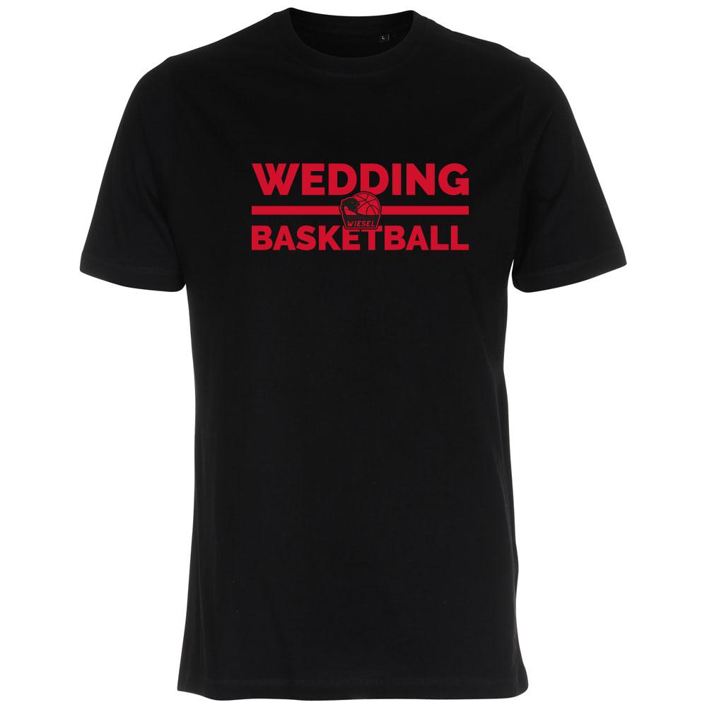 Wedding Basketball T-Shirt schwarz