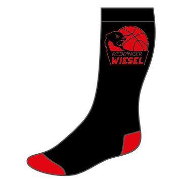 Weddinger Wiesel Socken schwarz